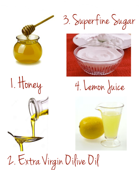 diy honey and lemon scrub 2