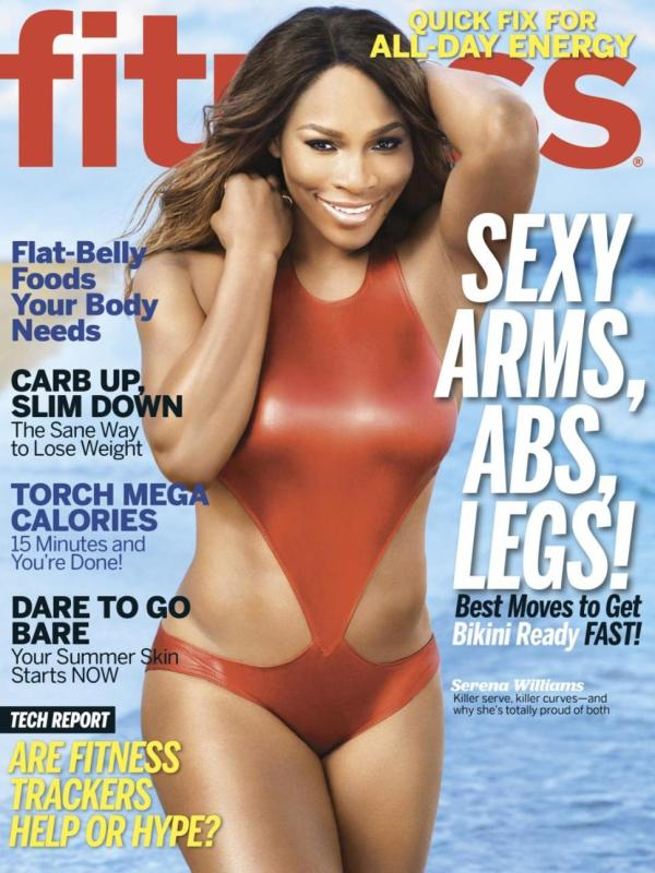Serena Fitness Magazine Covers