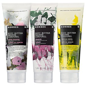KORRES Luxury Body Butter Trio