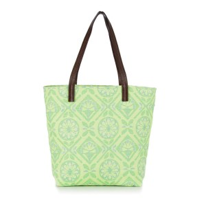 Pattern LA Elsa Jacquard Bag - Bulbe Green