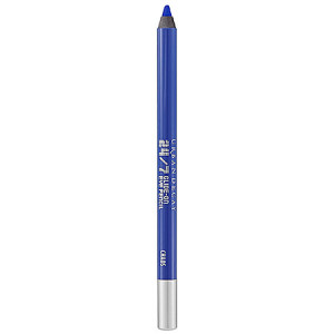 URBAN DECAY 24:7 Glide-On Eye Pencil Chaos - vibrant cobalt blue matte with slight floating pearl