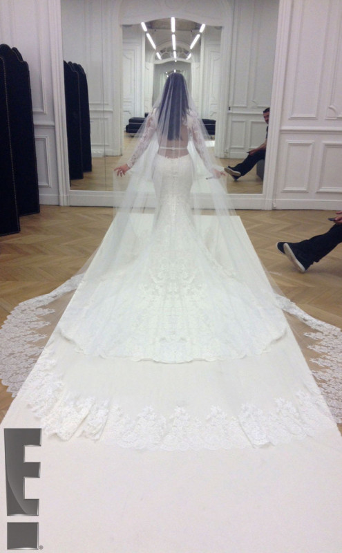 kim kardashian wedding gown kanye west