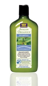 Avalon Organics Peppermint Strengthening Shampoo Pic