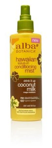 Alba Botanica® Drink It Up Coconut Milk Leave in Conditioning Mist