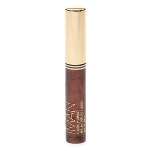 IMAN Luxury Lip Shimmer Gloss, Chocolate Diamond