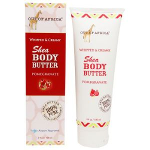 Out of African Whipped Shea  Butter Body