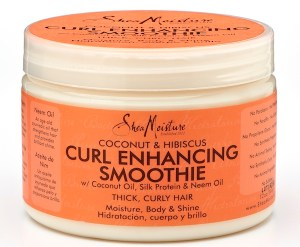 Coconut & SheaMoisture Hibiscus Curl Enhancing Smoothie