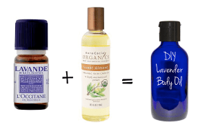 DIY Lavender Body oil