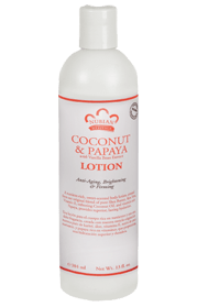 Nubian Heritage coconut and papaya lotion