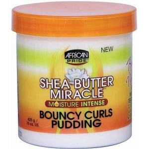 African Pride Shea Butter Miracle (Moisture Intense) Bouncy Curls Pudding  Photo