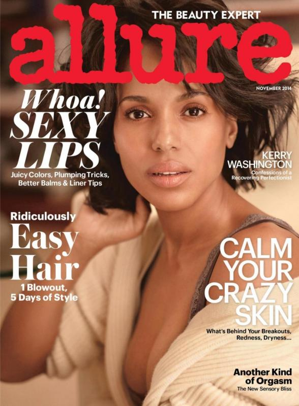 kerry washington november 2014 allure cover