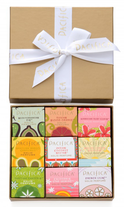 Pacifica Beauty Gold Collection Solid Perfume Gift Box- Bestsellers