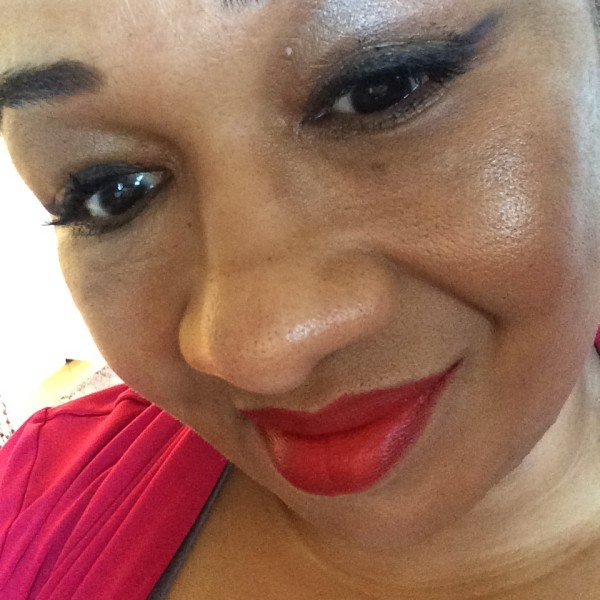 Rimmel London Kate Moss Long Lasting Lipstick 01 red swatch