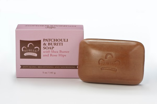 Nubian Heritage Patchouli & Buriti Collection soap