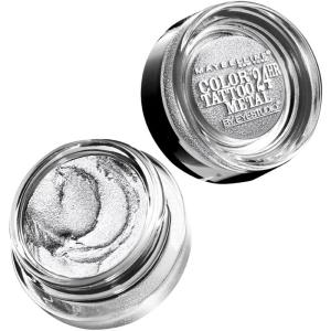 Maybelline Eye Studio Color Tattoo Metal in Silver Strike