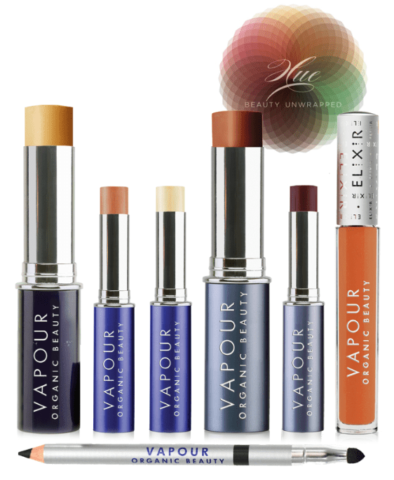 Vapour Organic Beauty Hue collection