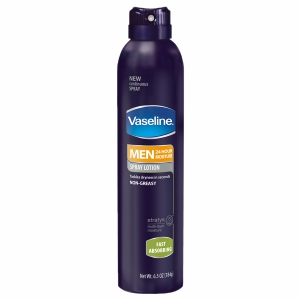 Vaseline Men Absorbing Spray Lotion