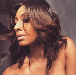 keri hilson glowing hair