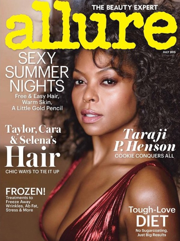 taraji p hensen allure july 2015 cover