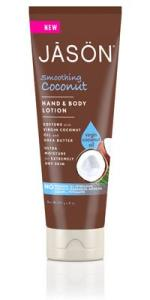 jason  smoothing coconut hand and body lotion