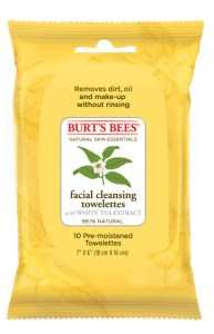 Burts Bees Facial Cleansing Towelettes - White Tea (10 count)