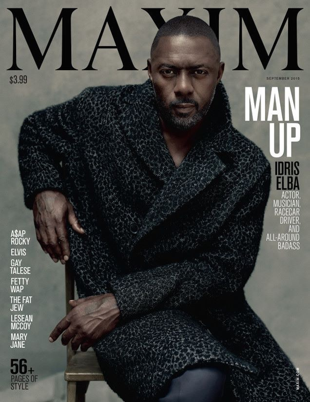 Idris Maxim cover september 2015