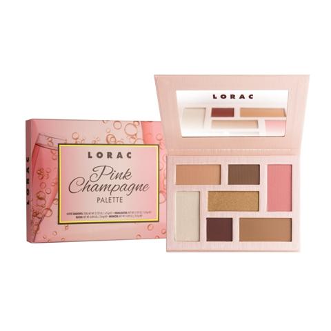 lorac pink champagne palette
