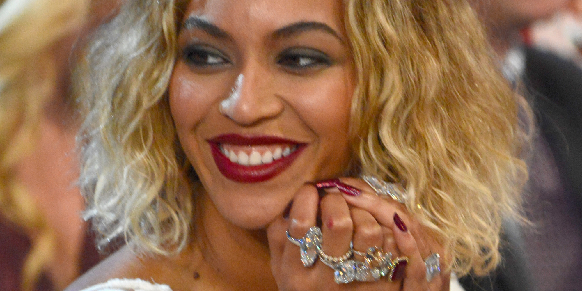 LOS ANGELES, CA - JANUARY 26:  Beyonce attends the 56th GRAMMY Awards at Staples Center on January 26, 2014 in Los Angeles, California.  (Photo by Kevin Mazur/WireImage)