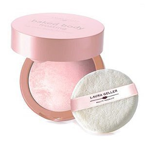 LAURA GELLER BAKED BODY FROSTING in angel glow