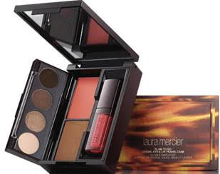 Laura Mercier Glam to go Cheek, Eye & Lip Travel Case