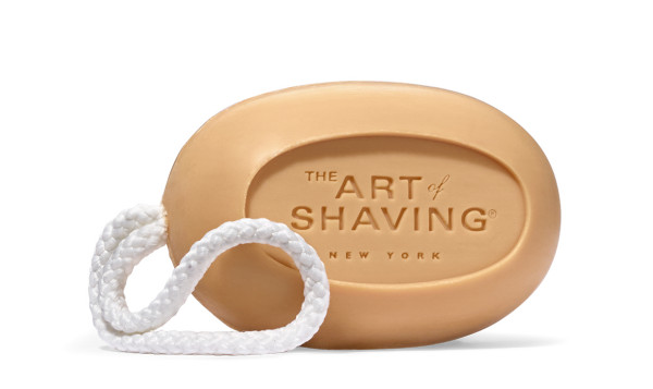 The Art of Shaving Vetiver Soap on a Rope