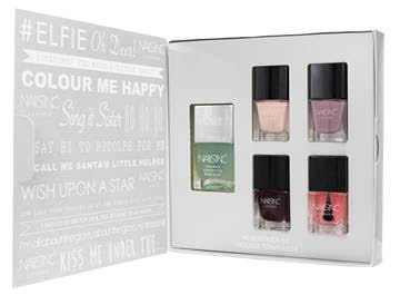 nails inc FESTIVE HEALTH KICK KIT