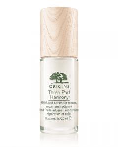 Origins Three Part Harmony Oil-infused Serum for Renewal, Repair and Radiance