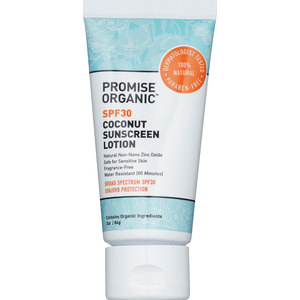 Promise Organic Coconut Sunscreen Lotion