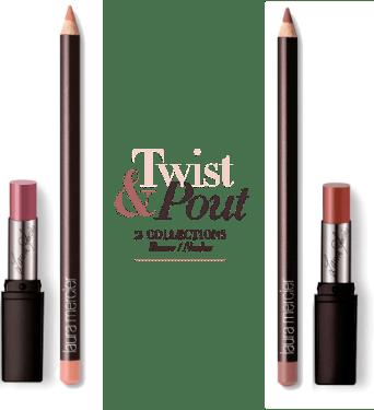 laura mercier Twist & Pout Collection – Roses & Nudes