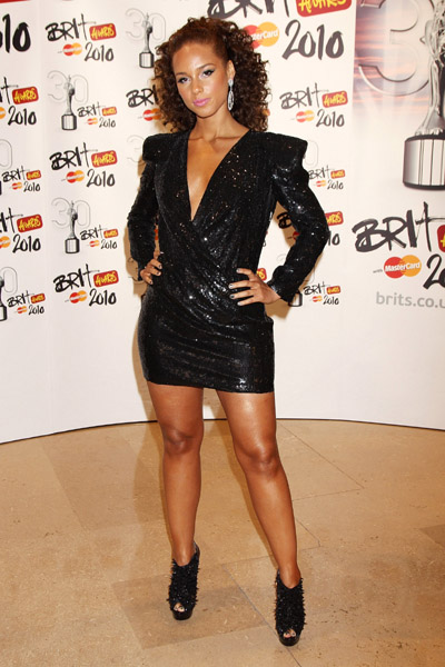 Alicia Keys 2010 BRIT Awards Getty Images