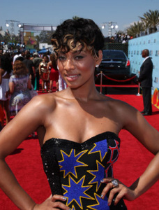 Keri Hilson at 2009 BET Awards Getty Images