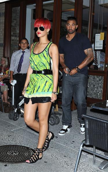 Rihanna and Matt Kemp August 9,2010 Getty Images
