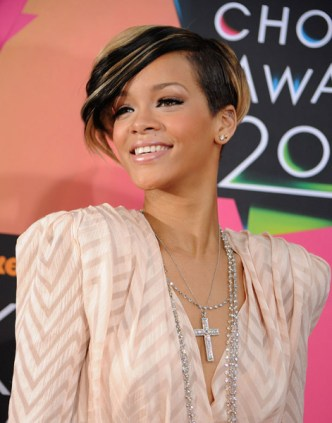 Rihanna Nickelodeon Kids' Choice Awards March 27 Getty Images