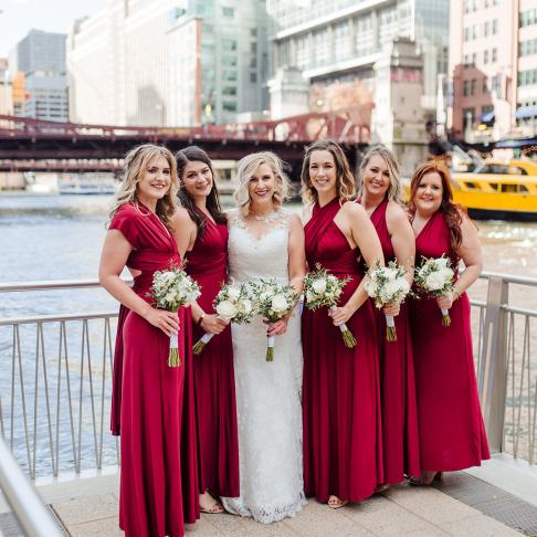 City of Chicago Bridesmaids
