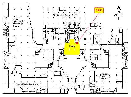 Automated External Defibrillator (AED) Locations: Geisel