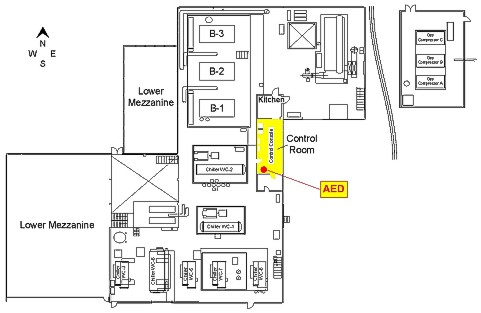 Automated External Defibrillator (AED) Locations: Central