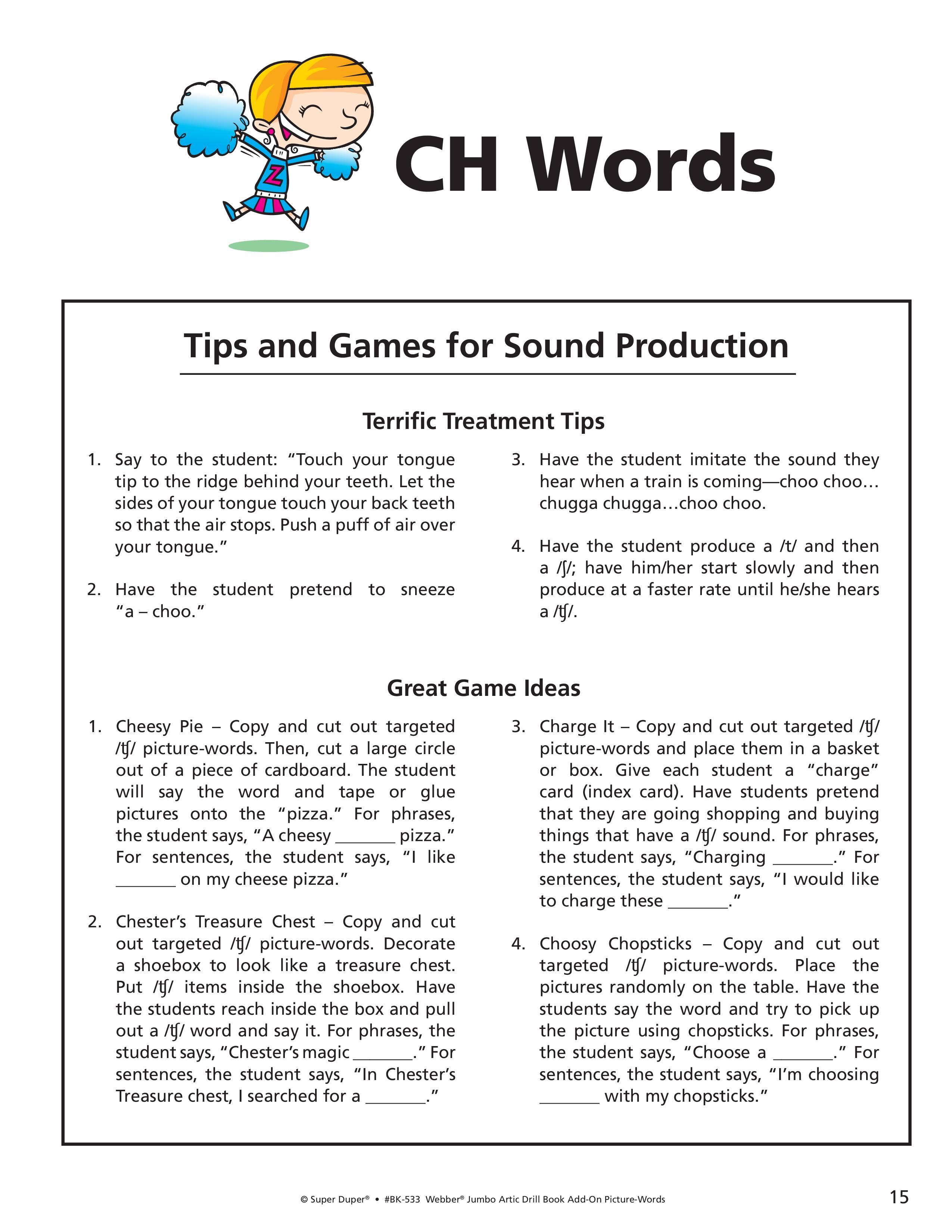 Ch J Sh Worksheets