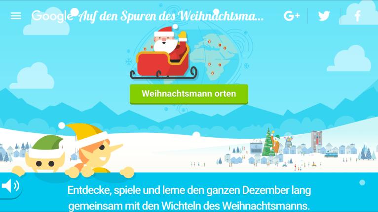 Google-Weihnachten