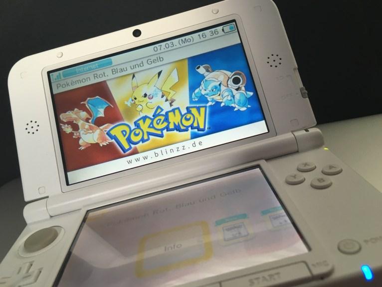 Pokemon Rot Blau Gelb