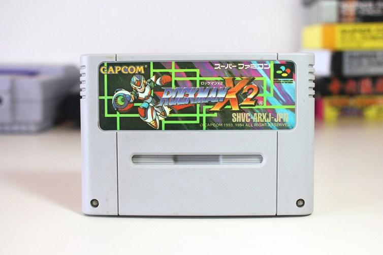 Megaman X2 bootleg cart