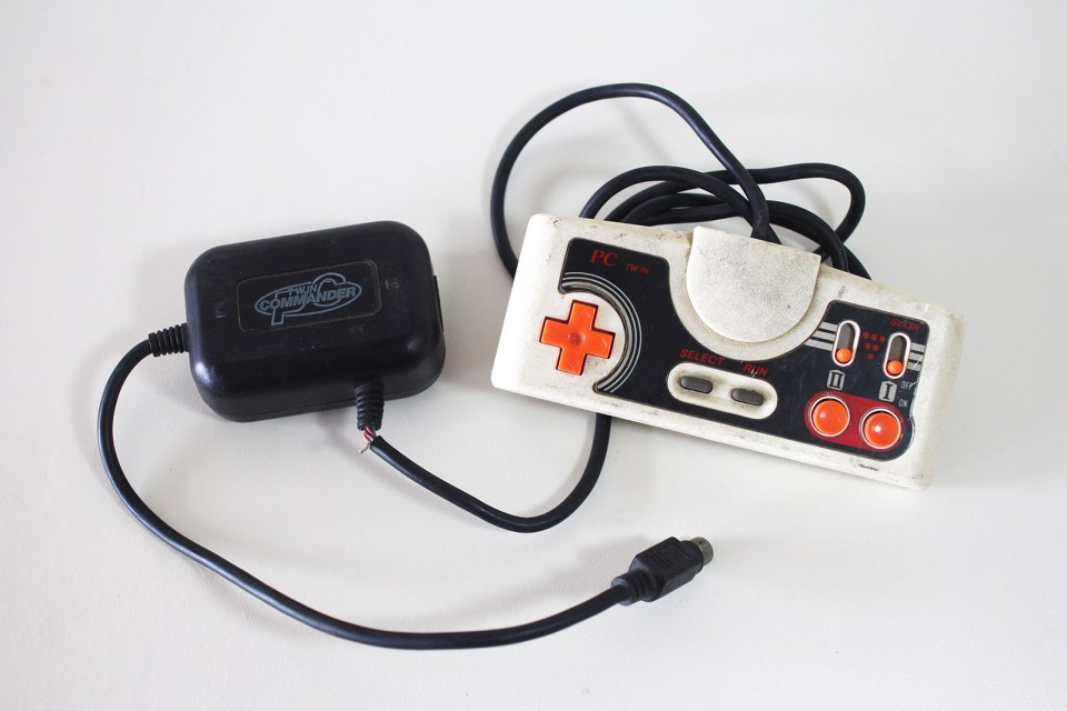 PC Engine Twin Commander Controller