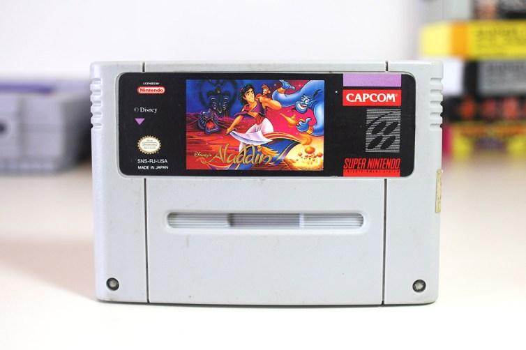 Bootleg Aladdin Super Famicom cart