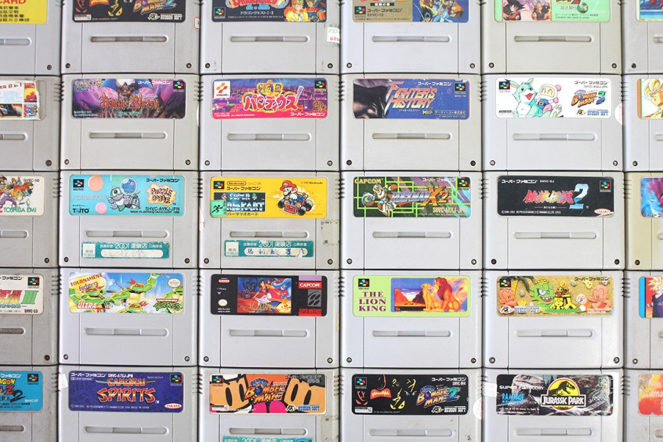 Bootleg Super Famicom Carts