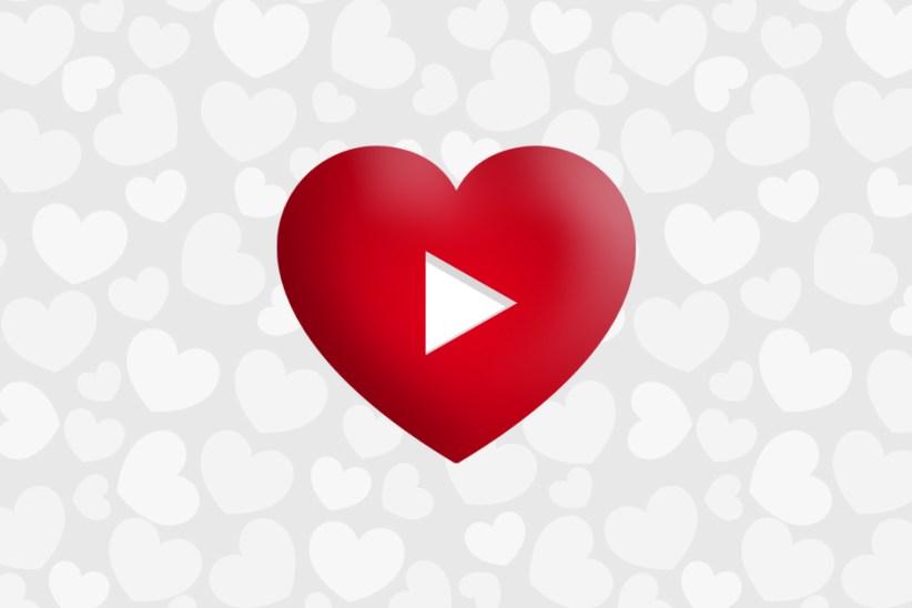 Valentine's day video advertising